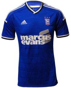 Ipswich Town Home shirt 2014/15 Championship League, Championship Football, Ipswich Town Fc, Blue Army, Football Kits, Sports Shirts, Tractor, Boys, Club