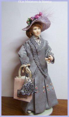 Doll 1:12th by Les Miniatures de Béatrice