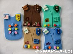 Girl Scout Swap Ideas | Swaps are still the perfect way for Girl Scouts to meet eachother and ...