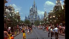 1972 Magic Kingdom - Restored Super8 Home Movie HD - Walt Disney World