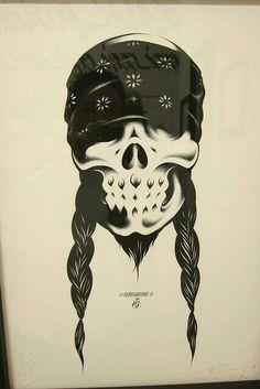skulls,art