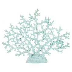 Coral Decor, could spay paint my gold one aqua