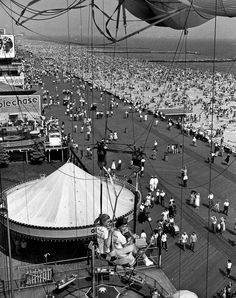 Parachute Jump, Coney Island, 1955