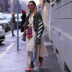 "The Street Vibe on Instagram: ""Aylin König | During Fashion Week s/s 2018 | Milan Soon at THESTREETVIBE.co Snapchat:…"""