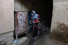 Afghanistan's Women's National Cycling Team has been breaking new ground for women's sports and pushing the boundaries of what is - and is not - acceptable for young women in the conservative Muslim country REUTERS/Mohammad Ismail