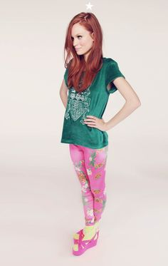 HAWAIIAN LEGGING by Wildfox Couture  Adorbs. Love the pink!