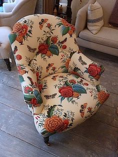 John Derian collaboration with Cisco Brothers #cool #chair #fabric