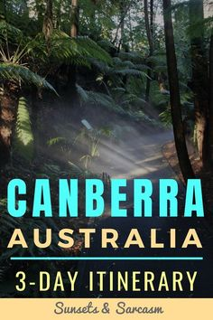Discover the best things to do in Canberra Australia with this fun itinerary to guide you around the nation's capital city. Includes parliament house, museums, art galleries and walks. Australia Capital, Moving To Australia, Visit Australia, Australia Travel, Australia Holidays, Cairns, Newcastle, Tasmania Australia, Sydney Australia