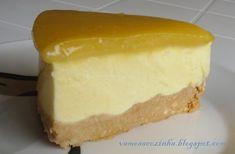 Receitas de Portugal: Delícia de limão Cheesecakes, Brazilian Dishes, Portuguese Recipes, Portuguese Food, Deserts, Sweets, Sauce, Mousse, Delicious Desserts
