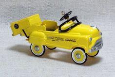Hallmark Murray Dump Truck Kiddie Car Classics Keepsake Ornament 1997 Gift | eBay
