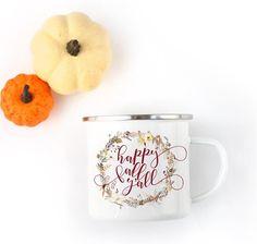 Happy Fall Y'all Camp Coffee Mug