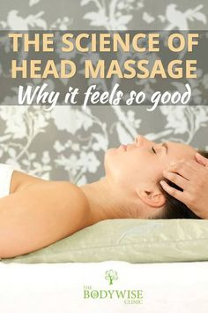 The Science of head massage: why it feels so good. Ask anyone that has enjoyed a scalp or head and shoulder massage from a trained masseuse if they feel better for it. The answer is a universal yes. Head massages are hard to beat for relaxation. Technique Massage, Massage Techniques, Neck Massage, Foot Massage, Massage Logo, Massage Chair, Elegant Short Hair, Massage Pressure Points