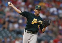 CrowdCam Hot Shot: Oakland Athletics starting pitcher Dan Straily throws to first base during the game against the Texas Rangers at Rangers Ballpark in Arlington. Photo by Tim Heitman