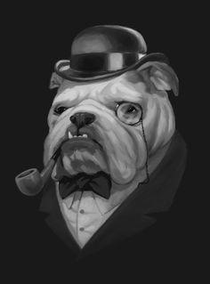 I don't like smoking but loving this English Gentleman