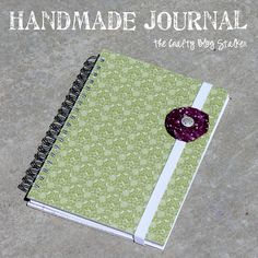 Create a handmade journal to keep your favorite quotes, your day to day happenings or your secrets. Simple tutorial gives you every step you need.