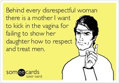 The sexes have been reversed for this e-card.  Is the sexism of the original now apparent?