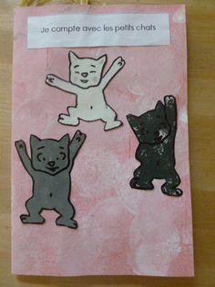 Nous avons raconté l'histoire 1,2,3 Trois Petits Chats qui savaient compter…