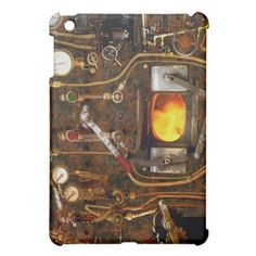 Steampunk Furnace iPad Mini Case