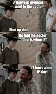It hurts when IP Carl!