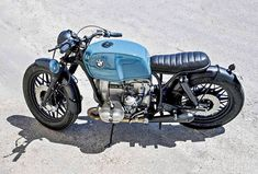 BMW by Addict Motorcycle #bmw #bratstyle #brat #caferacer #addictmotorcycle #bikesculture #custommotorcycles #custombikes