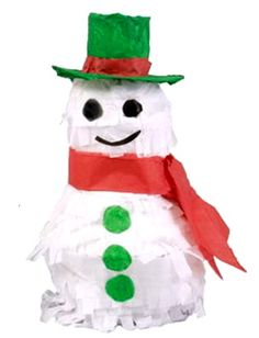 Image Detail for - standard snowman pinata this unique christmas pinata will be the ...