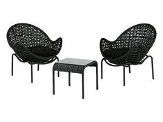 Outside furniture - @ Home Outside Furniture, Outdoor Furniture, Black Weave, New Condo, Outdoor Chairs, Outdoor Decor, Home Improvement, Patio, Porch