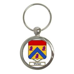 Sawyer Family Crest Coat of Arms Keychain