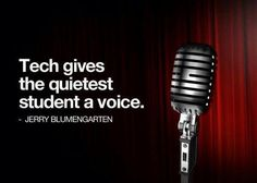 Great quote on the power of educational technology.