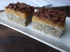 Ľahučký, veľmi jemný a vláčny koláčik so skvelou kombináciou maku a jabĺk. Jednoduchý, raz dva spravený a chutí naozaj úžasne :) potr...