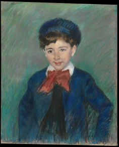 Mary Cassatt | Portrait of Charles Dikran Kelekian, Age Eight | The Metropolitan Museum of Art