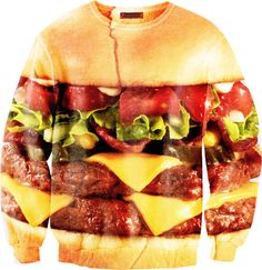 Sugarpills:  HAMBURGER sweatshirt  This is incredible
