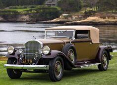 1931 Pierce-Arrow Model 41 Convertible Victoria - (Pierce-Arrow Motor Car Company Buffalo, New York 1901-1938)