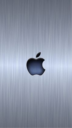 1080p Hd Wallpaper Apple Logo Blue Background Sonu Joy Pinterest