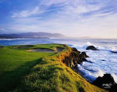 Pebble Beach 7th Hole I by Gallery Sur Photography of Big Sur, Carmel, Pebble Beach Photograph ~ Joann Dost x