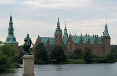 Renaissance castle ( Frederiksborg ) north of Copenhagen