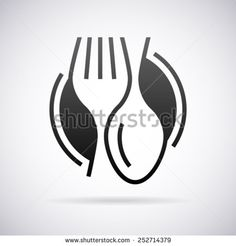 Food service vector logo design template - stock vector