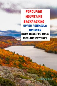 Tips on hiking loops for a Porcupine Mountains backpacking adventure in the Upper Peninsula of Michigan. Backpacking, Camping, Mountain States, Upper Peninsula, Wilderness, Adventure Travel, Michigan, Hiking, Mountains