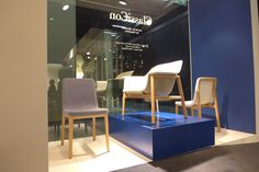 ClassiCon Stand IMM Cologne 2015 - Sedan Chairs NEW 2015 and Sedan Lounge Chair by Neri&Hu