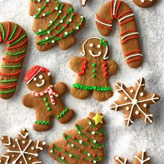 Our two boys linger around the kitchen when these homemade gingerbread cookies are baking. I make this gingerbread cookie recipe throughout the year using a variety of cookie cutters. —Christy Thelan, Kellogg, Iowa