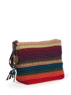 the Sak cosmetics bag. Cute!
