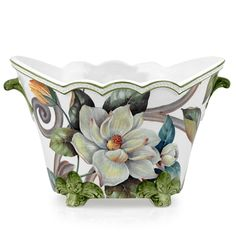 Magnolia Kobus Cachepot   Vases & Cachepots   Home Decor Accessories   Home Decor   ScullyandScully.com