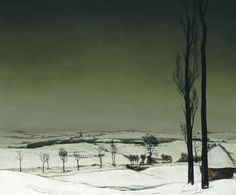 Valerius De Saedeleer(Belgian, 1867-1942Winter Landscape, 1931. From sealmaiden: via iamjapanese