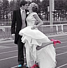 Track spikes&gowns❤️