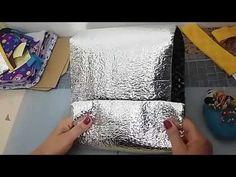 Colocando ziper na lancheira termica - YouTube