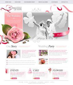 Thiết kế web đám cưới - Thiết kế website đám cưới - Dịch vụ thiết kế web đám cưới