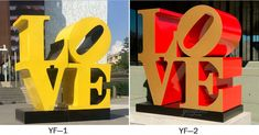High Polished Philadelphia Love Statue Replica Stainless Steel Blue Love Sculpture for Sale Outdoor Modern Metal Sculpture Fine Sculpture Love Statue, Sculptures For Sale, Elements Of Art, Philadelphia, Symbols, Stainless Steel, Metal, Modern, Blue