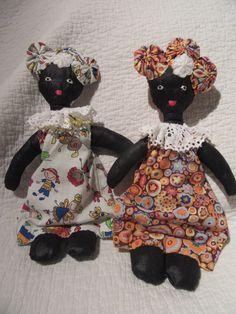 petites poupées en chiffon