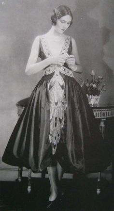 1920s dress that is still stunning today. Timeless