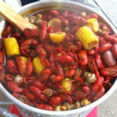 Yummy crab boil!