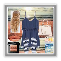 """The Beach"" by cassie-is-classy-7311 ❤ liked on Polyvore featuring MANGO, Armani Exchange, GUESS, Anastasia Beverly Hills, Casetify and Bobbi Brown Cosmetics"